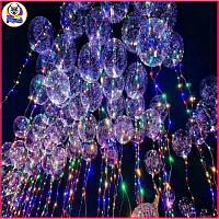 Светящаяся лампа Воздушный шар Прозрачная круглая вечеринка для украшения пузыря Свадебное