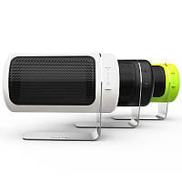 Три цветных портативных мини-электрических Керамический Нагреватель Настольный вентилятор Нагреватель для дома и офиса