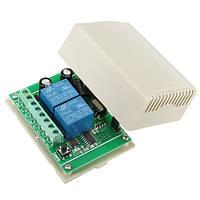 БеспроводноерелеДистанционноеУправлениеПереключатель433MHz 12V 10A Канал 2CH Дистанционное Управление Switch