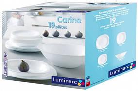 Сервиз столовый LUMINARC CARINE 19 предметов на 6 особ