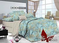 Комплект постельного белья сатин двуспальный TM Tag 080