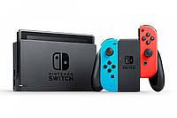 Nintendo Switch Neon Red/Blue + The Legend of Zelda Breath of the Wild