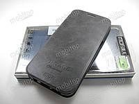 Чехол книжка MOFI Vintage Samsung Galaxy S7 Edge (серый), фото 1