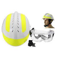 300*240ммСпасательныйшлем Fire Fighter + Защитный Очки Защитный шлем защиты