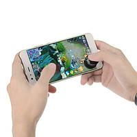 Универсальный сенсорный экран Вращающийся джойстик Аркадные игры Контроллер Sucker для планшета для мобильных телефонов