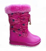 Детские сапоги зимние для девочки, 27-31