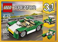 Детский конструктор Зеленый кабриолет Lego Creator