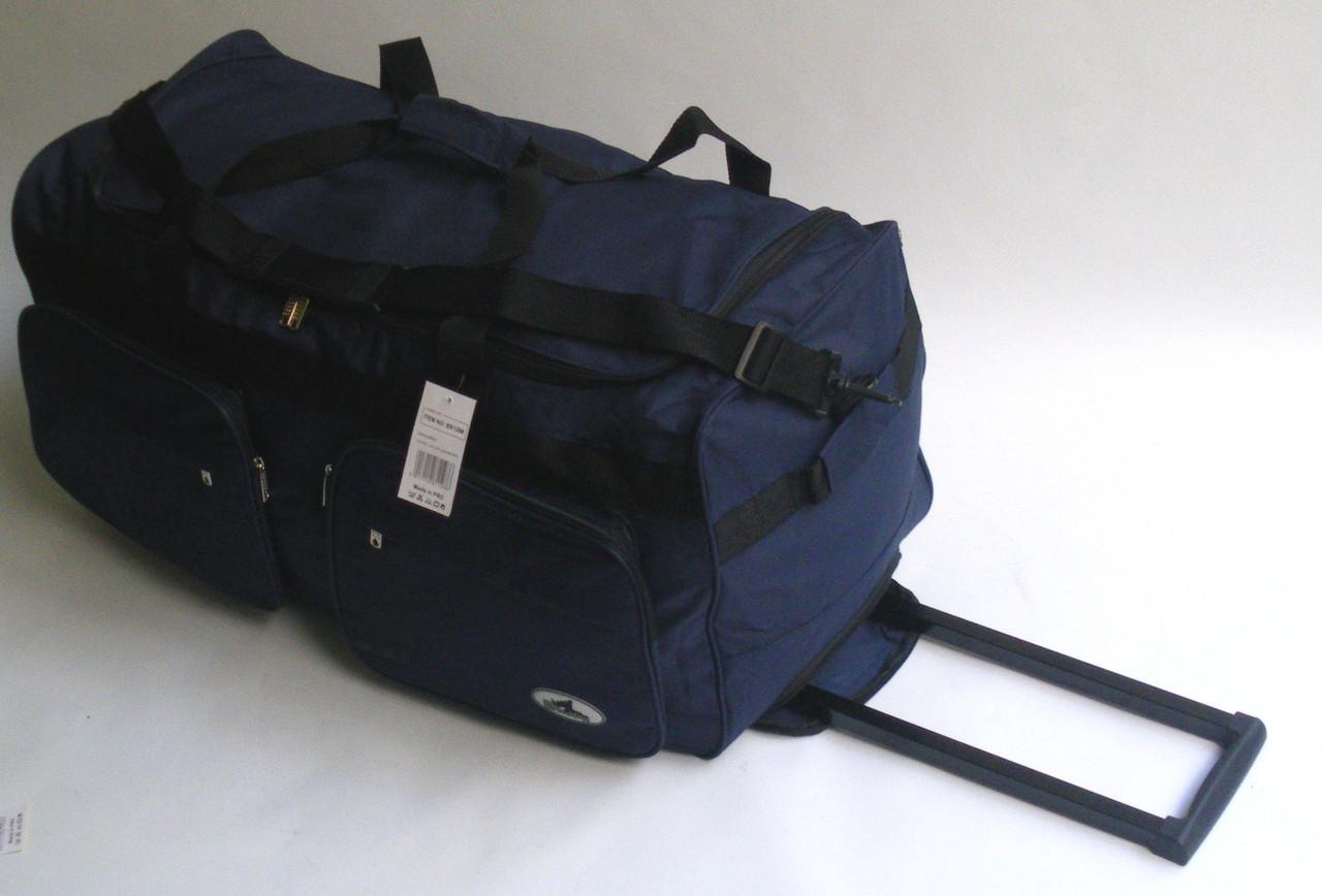 db71b5841950 Дорожная - спортивная сумка на колесах Rhino - синяя 54 л.: продажа ...