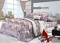 Комплект постельного белья сатин двуспальный TM Tag 084