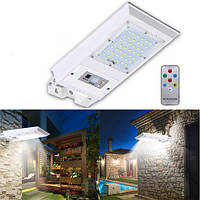 Солнечная Мощность 60 LED Дистанционный PIR Motion Датчик Стена На открытом воздухе Сад Уличный свет Водонепроницаемы Лампа
