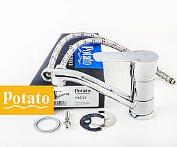 Смеситель для кухни POTATO P4533, фото 3