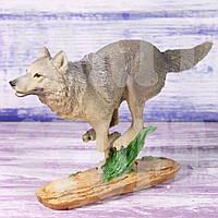 Статуэтка Волк бегущий