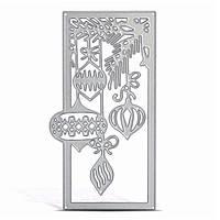 Металлический фонарь Шаблон Режущие штампы для DIY Рождественская бумажная открытка Ремесла Стеновые вырезки Подарки