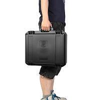 Сумочка Чехол Защитная Чехол Углерод Hard Сумка Инструмент Коробка Для очков VR Водонепроницаемы 41x33.5x14cm