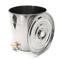 50 кг Хранение банок для хранения пищевых продуктов из нержавеющей стали с ручкой Замок Крышка