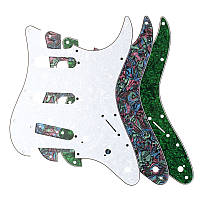 3ply Guitar Pickguard Direct Fit для США/MEX Fender Stratocaster Strat