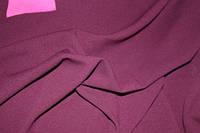 Ткань креп дайвинг бордо (винный насыщенный цвет), фото 1