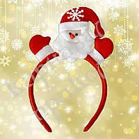 Аксессуар на ободке Дед Мороз