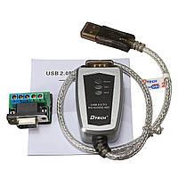USB до RS485 RS422 Последовательный DB9 к переходному кабелю последовательного преобразователя Termi