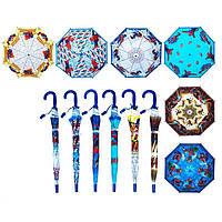 """Зонт K219 """"Spider-Man """" 6 видов, со свистком, в пакете 49 см"""