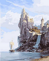 Картина по номерам NB856 Скалистые берега (40 х 50 см) DIY Babylon Premium