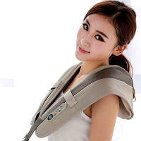 Вибрационно-ударный массажер для плеч и тела Cervical Massage Shawls