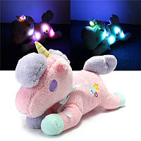 Unicorn Plush Soft Игрушка чучела легкого животного Cuddly Кукла Kids Children Toy Gift