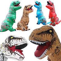 РождественскаянадувнаяодеждаДинозаврДлявзрослых Модели Air Blowing Up Costume Funny Toys Детский подарок