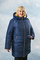 Куртка пуховик женская больших размеров  Камилла   56, 58, 60, 62 все цвета  , купить