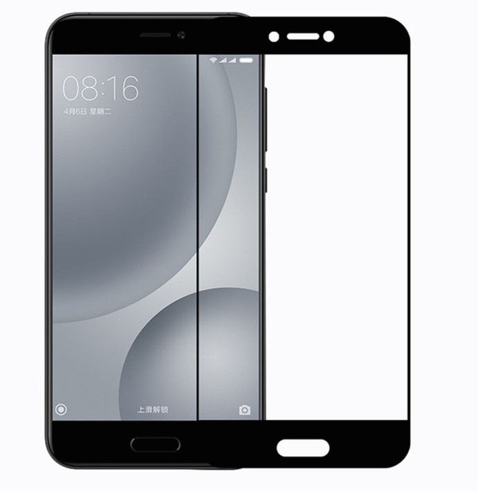 Защитное стекло 3D для Xiaomi Mi5s Plus (Black)