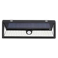 Солнечная Powered 90 LED Motion Датчик Настенный светильник Водонепроницаемы Широкий угол Ourdoor Сад Безопасность Лампа