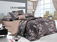 Полуторный комплект постельного белья 150*220 сатин (8623) TM KRISPOL Україна