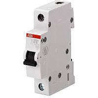 Автоматический выключатель АВВ SH201 1р 6А тип B 6кА
