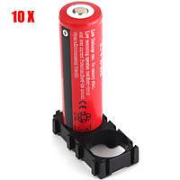 10x 18650 Радиационная оболочка ABS Пластиковый держатель Батарея Пакет для 20pcs 18650
