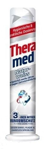 Theramed зубная паста с дозатором Natur Weiss (100 ml) Германия
