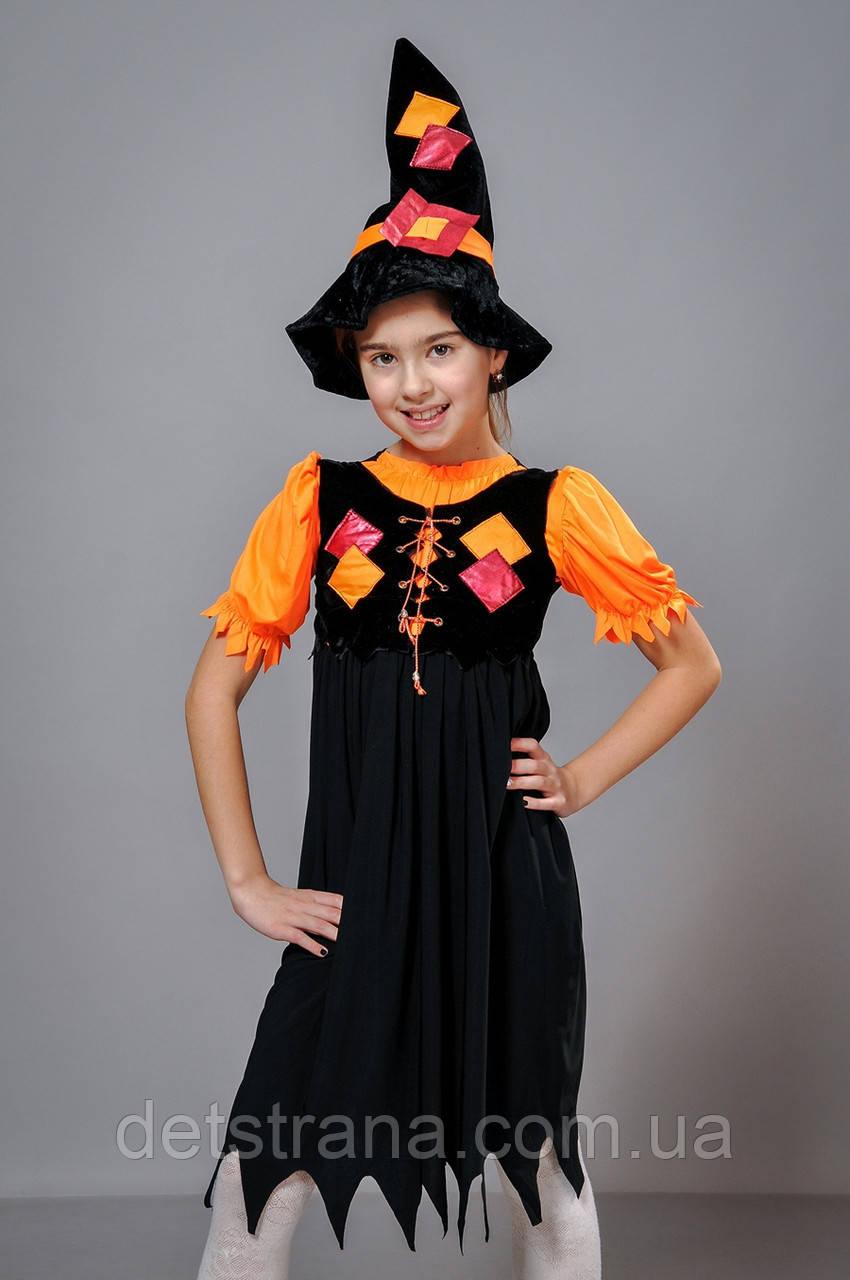 Детский Карнавальный костюм Ведьмочка: продажа, цена в ... - photo#14