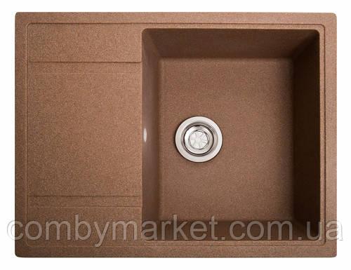 Кухонная мойка Галац JORUM 65 TERACOTA (701), 65х50х20 см