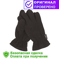 Тактические флисовые перчатки MIL-TEC THINSULATE Black XL (12534002)
