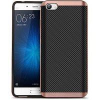Чехол, бампер iPaky для смартфона Xiaomi Mi5 (ROSE GOLD)