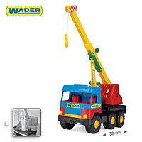 Машинка middle truck кран wader 39226