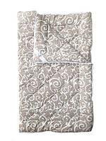 Шерстяное одеяло евро облегченное, Орнамент2 бязь (195х215 см.)