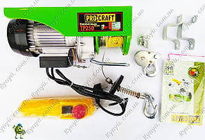 Подъемник электрический Procraft TP250, фото 2