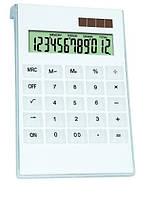 Большой изящный калькулятор gaona 2235/2285, пластик, прозрачные кнопки, 12 разрядов, на солнечной батарее