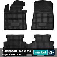 Модельные коврики в салон Mercedes C-Class (205) 2013-2017 Компл.: Полный комплект