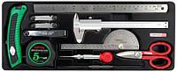 Набор мерительного инструмента в ложементе  TOPTUL GCAT1101