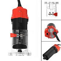 Raitool ™ 220V 500W Corded Electric Hand Триммер Ламинатор для дерева Ламинатор Столярные изделия Набор + Аксессуары