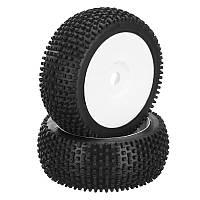 DHK Hobby 8381-722 Шина для колесных дисков Полная белая рамка 2шт 1/8 8381 Optimus RC Авто Часть