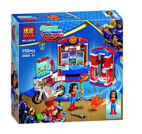 Конструктор Bela 10616 Супергероини Дом Чудо-женщины (аналог Lego DC Super Hero Girls 41235)