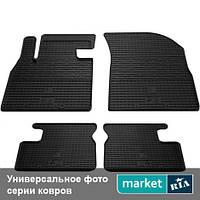 Модельные коврики в салон Mercedes C-Class (204) 2007-2011 Компл.: Полный комплект (5 мест)
