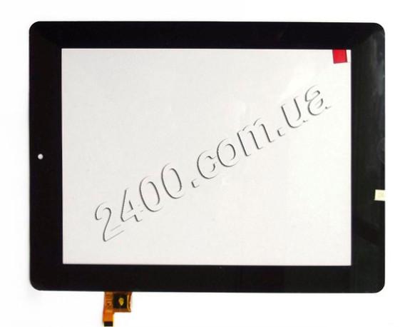 Сенсор (тачскрин) для планшета Prestigio 7280C черный 200*157 мм 9 pin